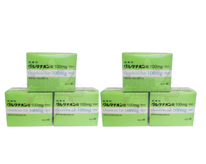 PH338 Glutathione 6 Box (3600) Tablet